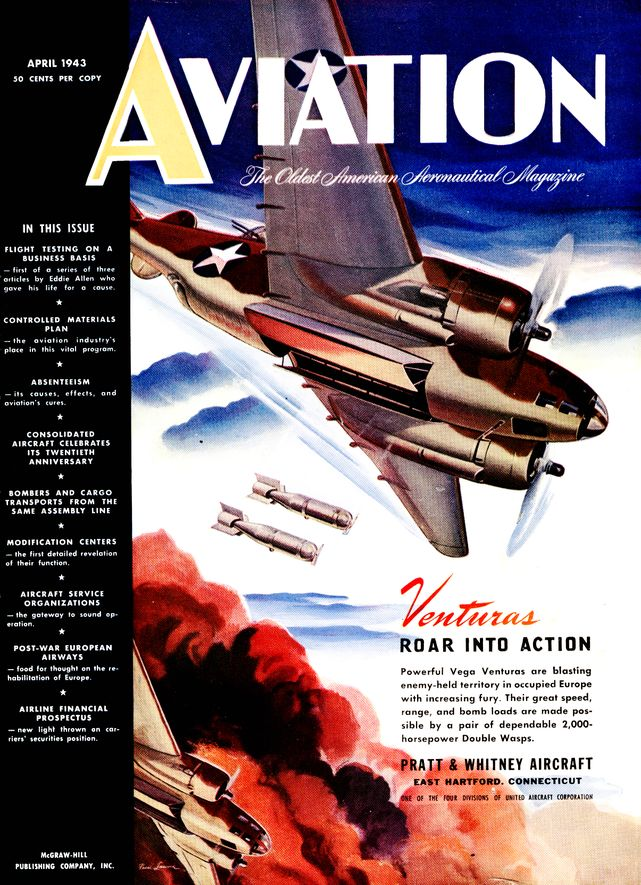 Aviation cover april 1943