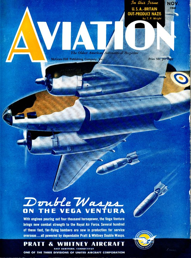 Aviation cover november 1941