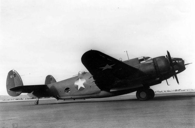 Lockheed b 37 usaaf