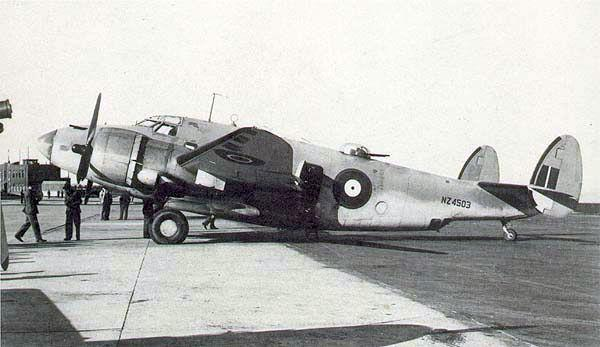 Lockheed pv 1 nz4503