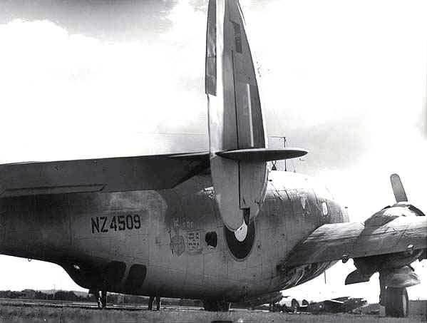 Lockheed pv 1 nz4509 fuselage