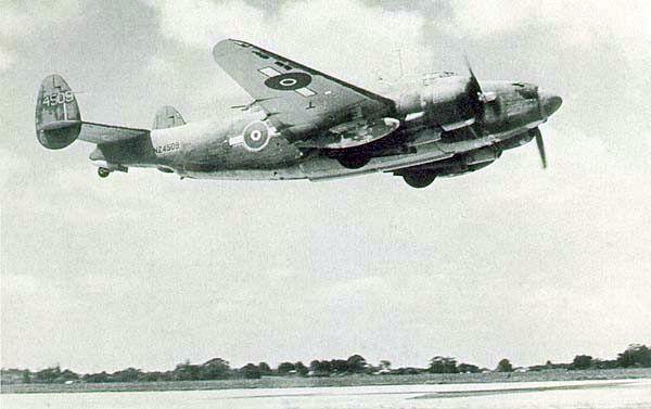Lockheed pv 1 nz4509