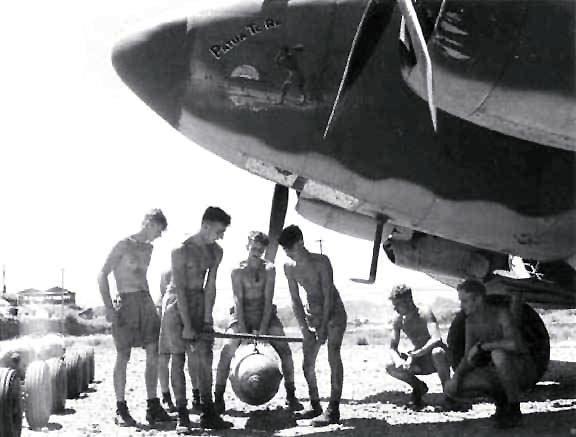 Lockheed pv 1 nz4516 10 service unit