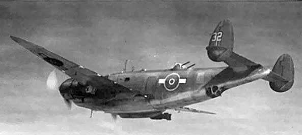 Lockheed pv 1 nz4532