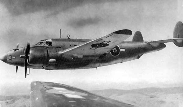 Lockheed pv 1 nz4563 north island nz