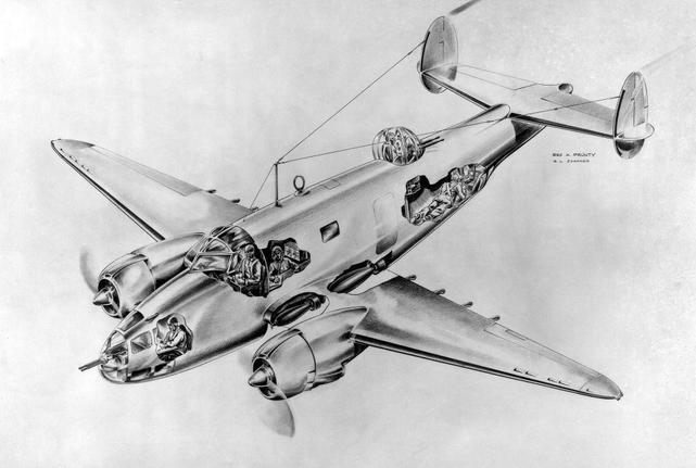 Lockheed pv 1 ventura crew positions