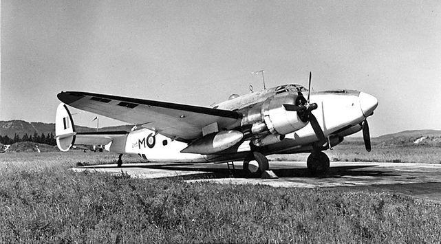 Lockheed ventura 2185 patricia bay