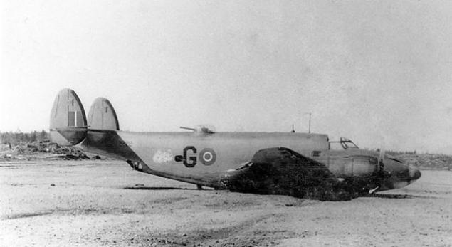 Lockheed ventura 2222 115 sqn