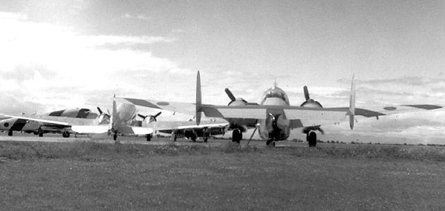 Lockheed ventura 2222 rcaf 1946