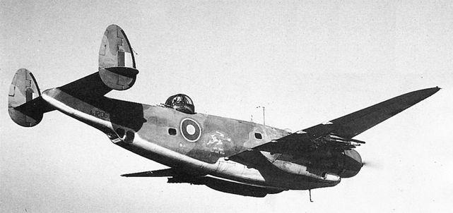 Lockheed ventura aj206
