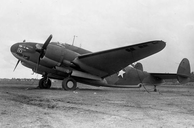 Lockheed ventura b 34