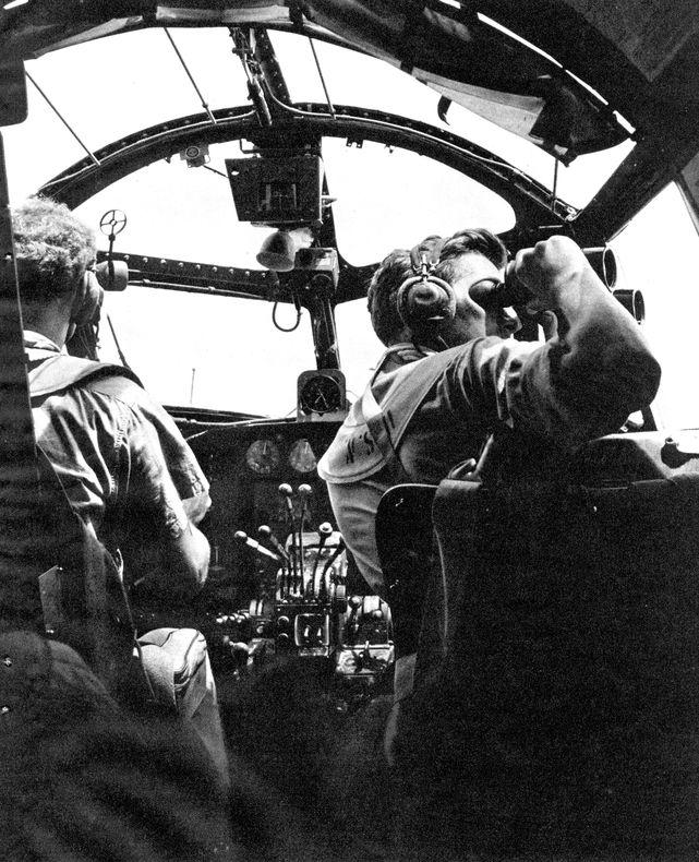 Lockheed ventura cockpit 2