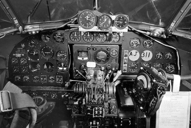 Lockheed ventura cockpit