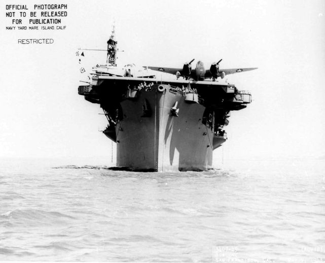 Lockheed ventura copahee aircraft carrier