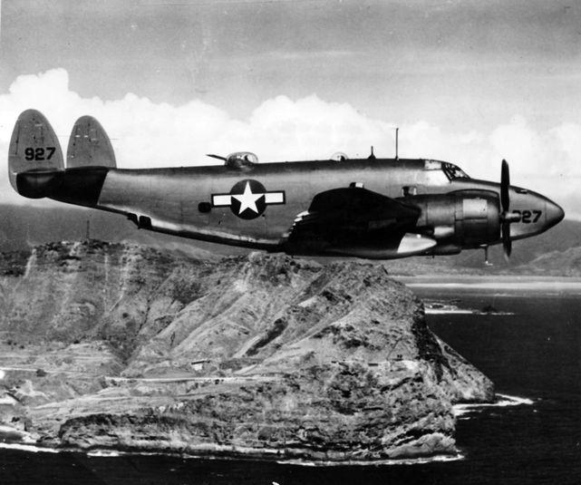 Lockheed ventura hawai