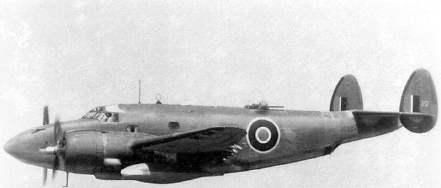 Lockheed ventura js964 raf 500 sqn
