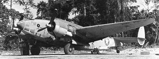 Lockheed ventura pv 1 bougainville