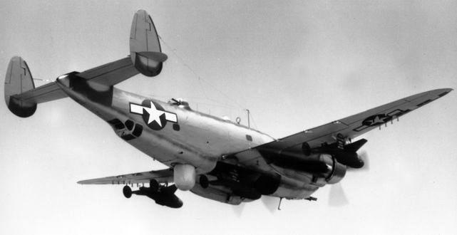 Lockheed ventura pv 1 missiles