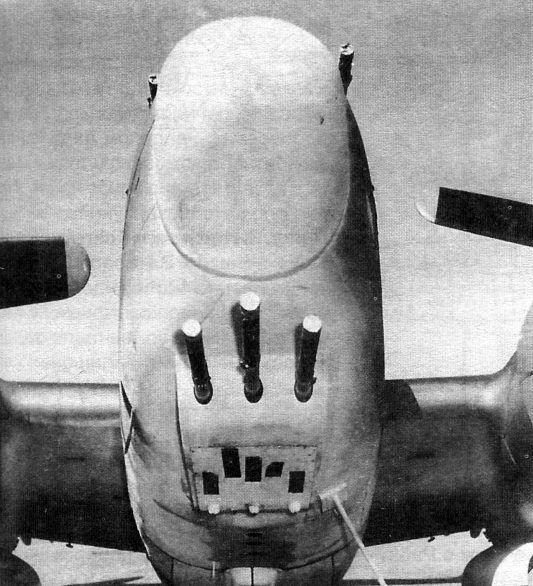 Lockheed ventura pv 1 nose