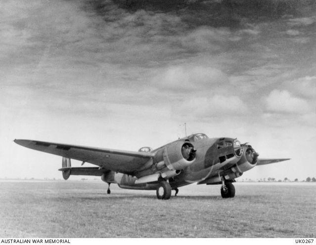 Lockheed ventura raaf 464 sqn 1943