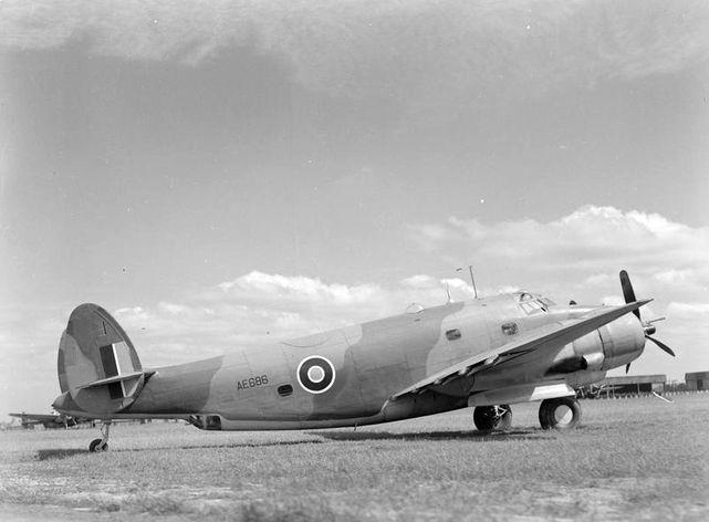 Lockheed ventura raf ae686