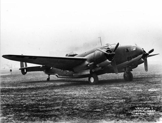 Lockheed ventura raf ae762