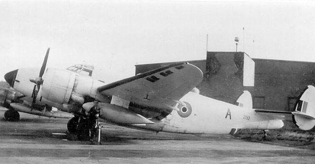 Lockheed ventura rcaf met flight