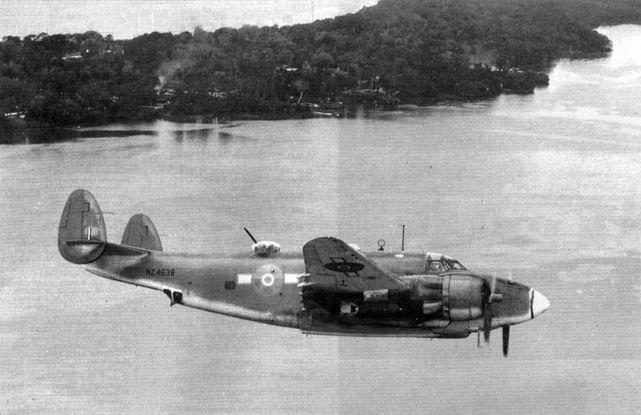 Lockheed ventura rnzaf solomons