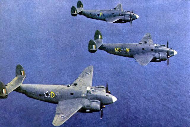 Lockheed ventura saaf 22 sqn du plessis