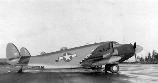 Lockheed ventura us navy port hardy