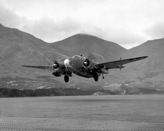 Lockheed ventura vb 136 attu island