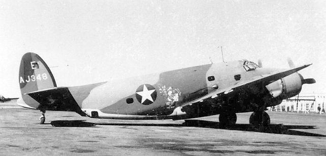 Lockheed venturas aj348
