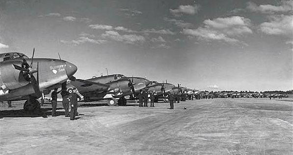 Lockheed venturas no 1 squadron