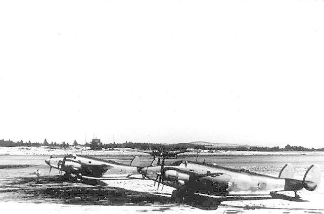 Lockheed venturas rcaf 115 sqn