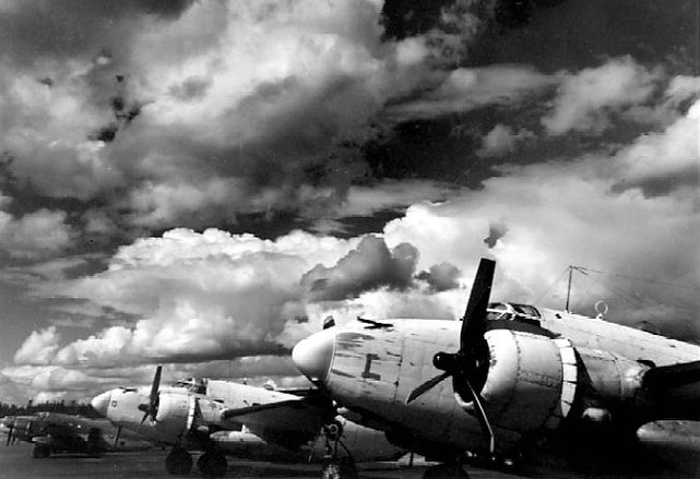 Lockheed venturas rcaf 145 sqn