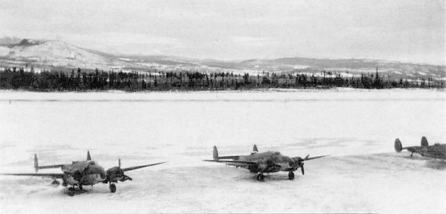 Lockheed venturas rcaf 149 sqn smithers