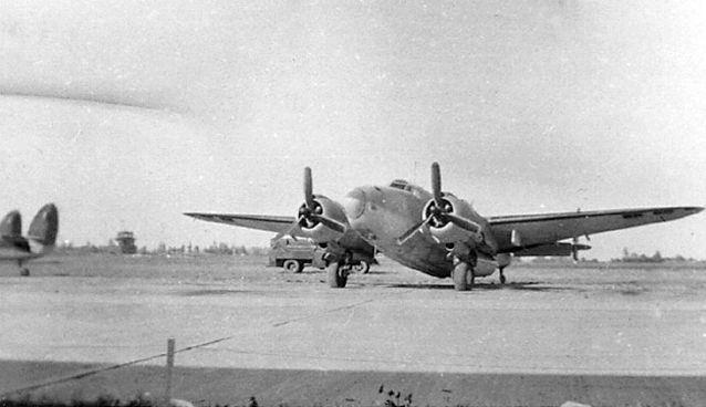 Lockheed venturas rcaf 149 sqn
