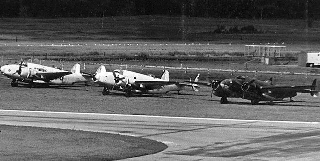 Lockheed venturas spartan as